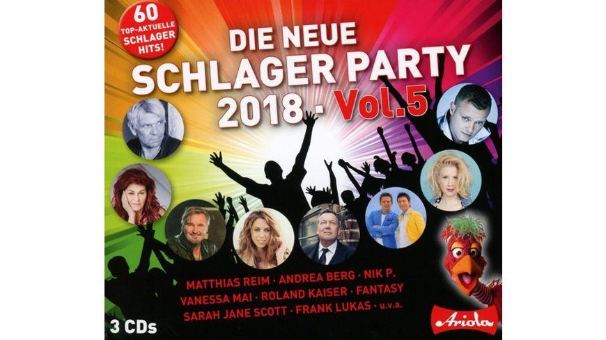 Die neue Schlager Party Vol 5 2018