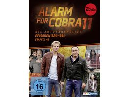 Alarm fuer Cobra 11 Staffel 41 2 DVDs