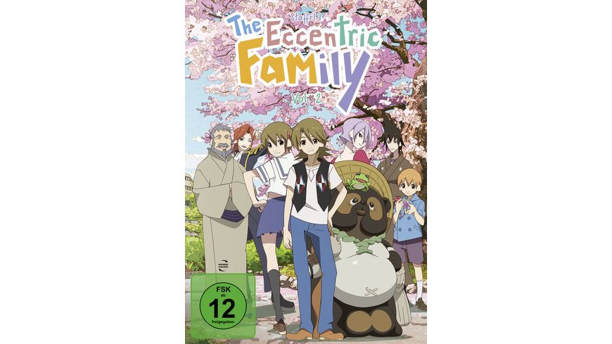 The Eccentric Family Staffel 1 Vol 2