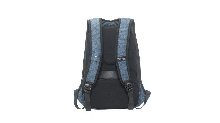 Swissdigital OPTICAL Rucksack jeansblau