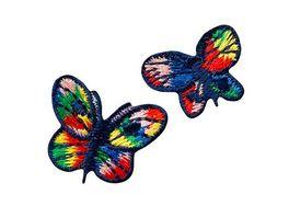 Mono Quick Buegelmotiv Schmetterlinge bunt