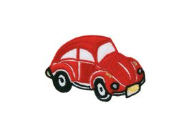 Mono Quick Buegelmotiv VW Kaefer rot