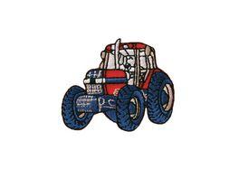 Mono Quick Buegelmotiv roter Traktor klein