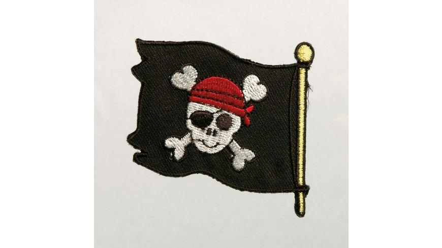 Mono Quick Buegelmotiv Piratenflagge