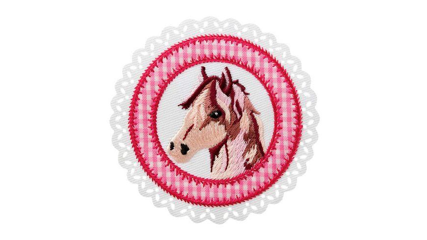 Mono Quick Buegelmotiv Pferdepatch
