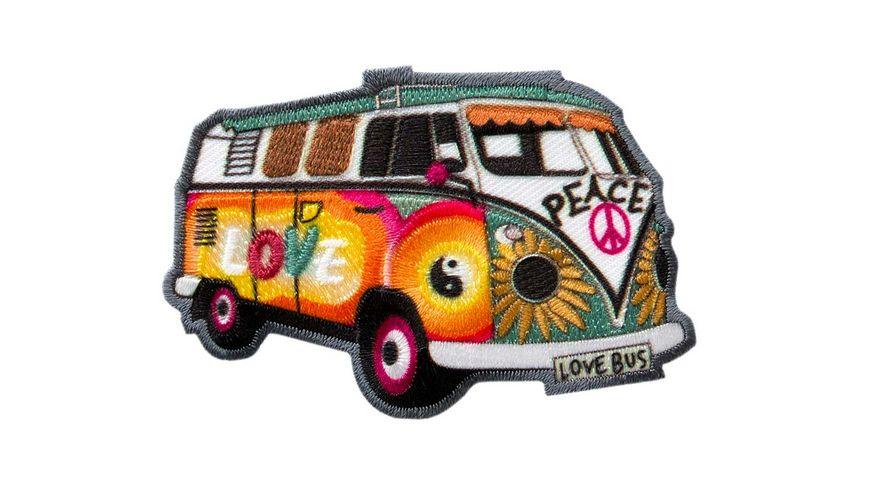 Mono Quick Buegelmotiv Hippie Bus