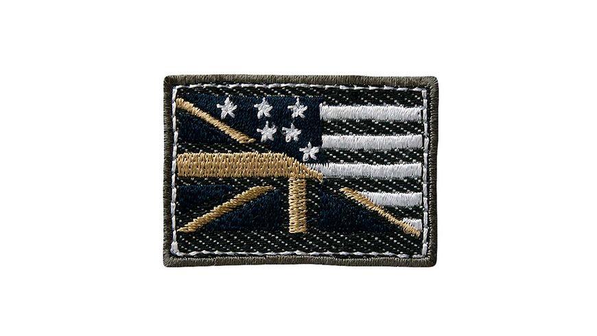 Mono Quick Buegelmotiv Union Jack