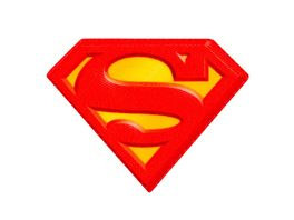 Mono Quick Buegelmotiv Superman LOGO