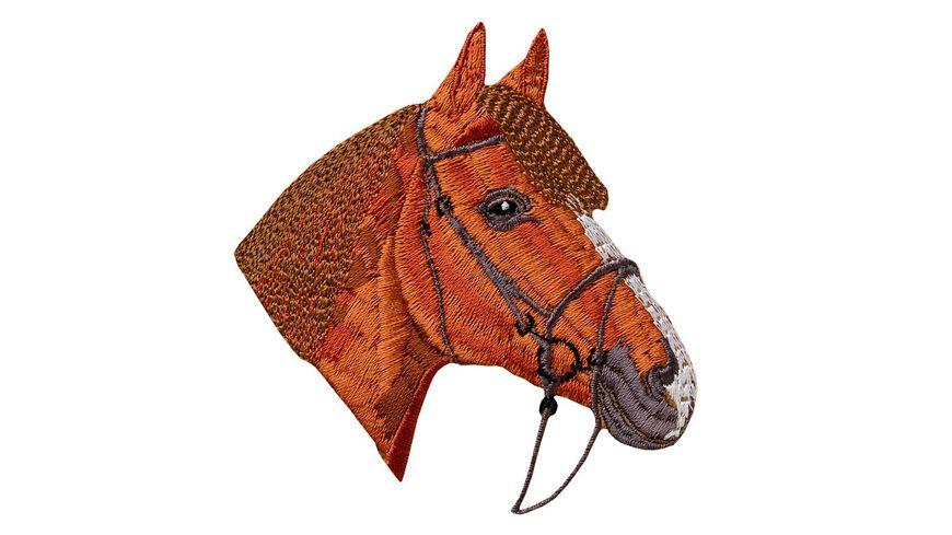 Mono Quick Buegelmotiv Pferdekopf