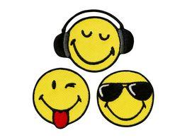 Mono Quick Buegelmotiv Smiley Cool