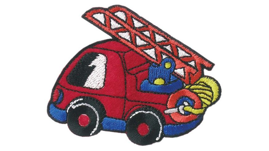 Mono Quick Buegelmotiv Feuerwehrauto