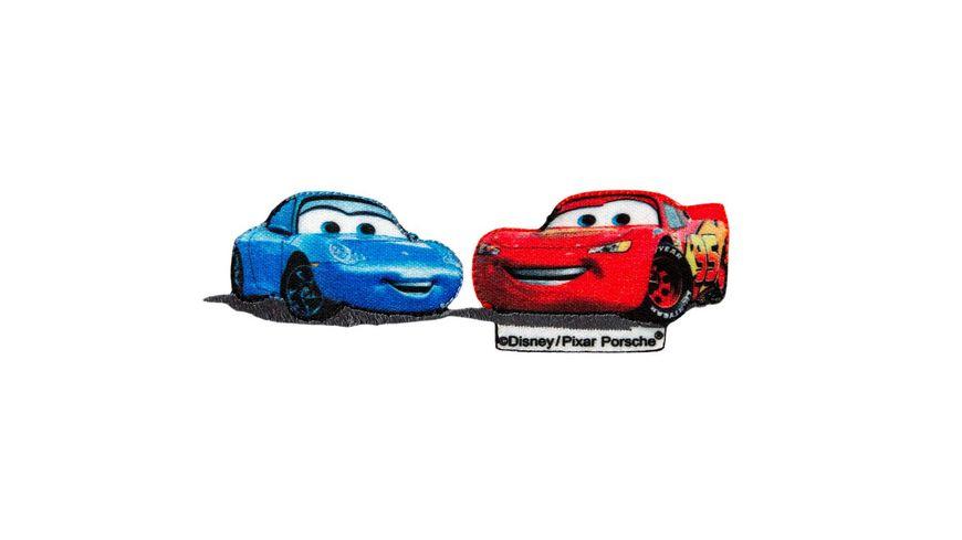 Mono Quick Buegelmotiv Cars Rennwagen