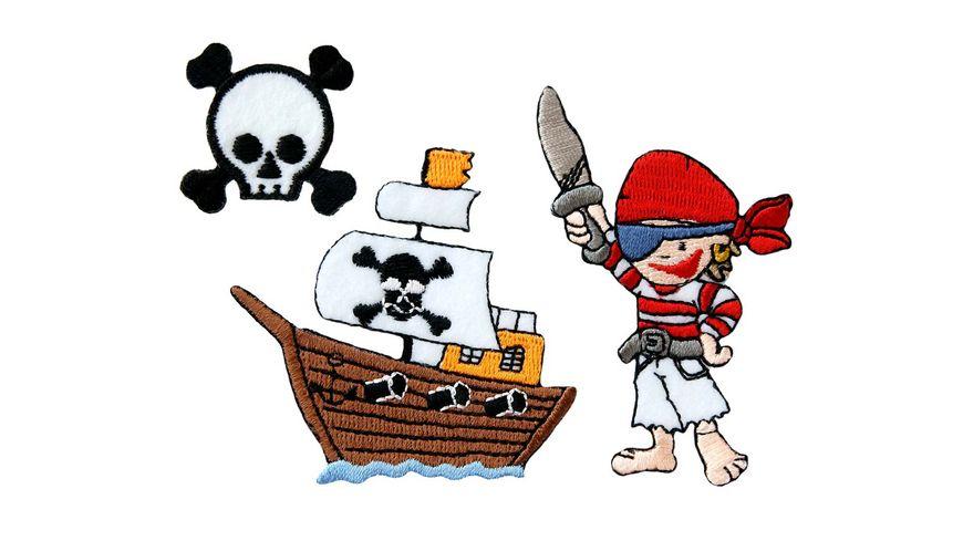 Mono Quick Buegelmotiv Pirat