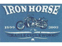 Mono Quick Buegelmotiv Iron Horse