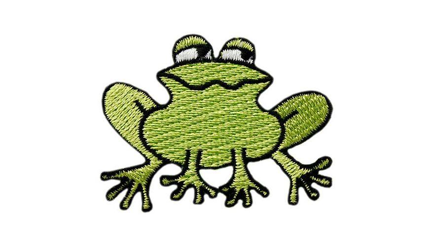 Mono Quick Buegelmotiv Frosch klein