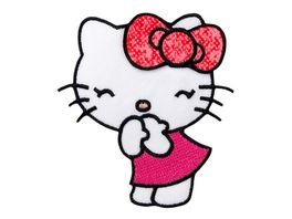 Mono Quick Buegelmotiv Hello Kitty CANDY pink