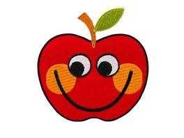 Mono Quick Buegelmotiv Apfel mit Gesicht
