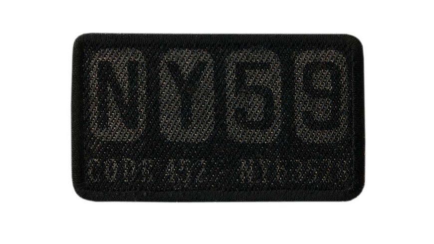 Mono Quick Buegelmotiv NY59 schwarz