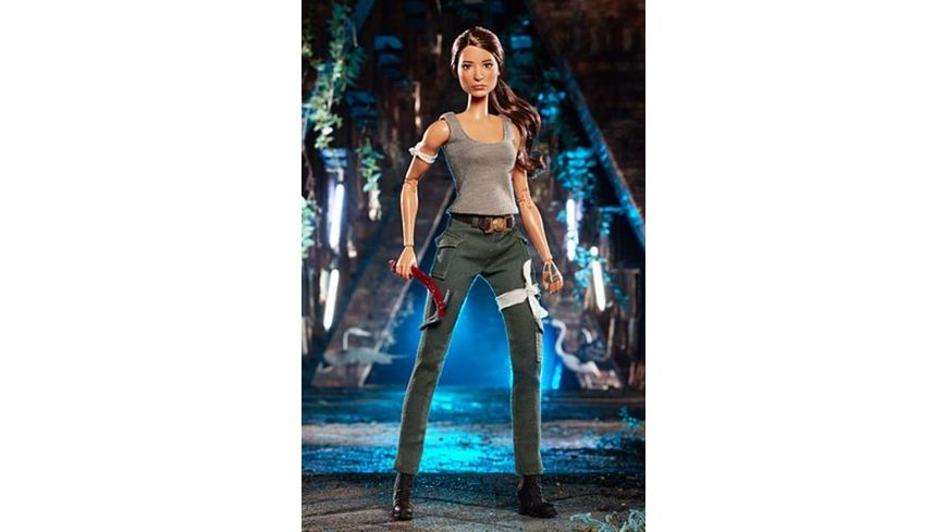 Mattel Barbie Signature Lara Croft Puppe