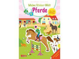 Meine Sticker Welt Pferde ueber 350 Sticker