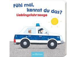 Buch Ars edition Fuehl mal kennst du das Lieblingsfahrzeuge