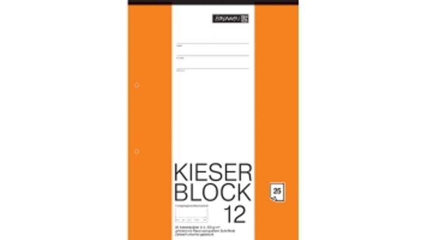 BRUNNEN Kieser Zeichenblock A4 25 Blatt blanko