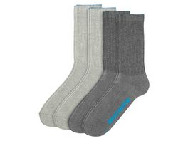 SKECHERS Herren Socken Tennis 4er Pack