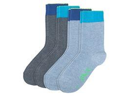 SKECHERS Kinder Socken Basic Boys 4er Pack