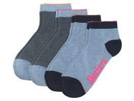 SKECHERS Kinder Socken Quarter Basic Girls 4er Pack