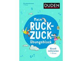 Buch Duden Mein Ruckzuck Uebungsblock Grundrechenarten 1 Klasse