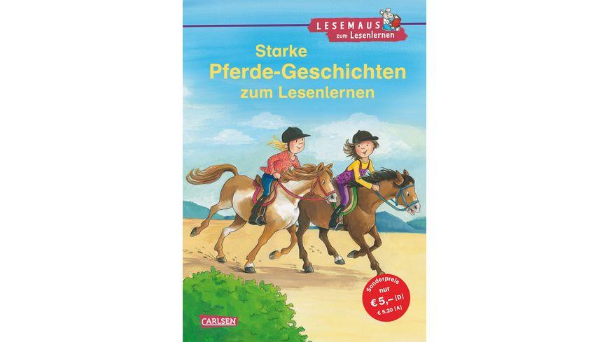 LESEMAUS zum Lesenlernen Sammelbaende Starke Pferde Geschichten zum Lesenlernen