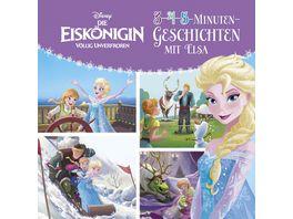 Disney Die Eiskoenigin 3 4 5 Minuten Geschichten mit Elsa