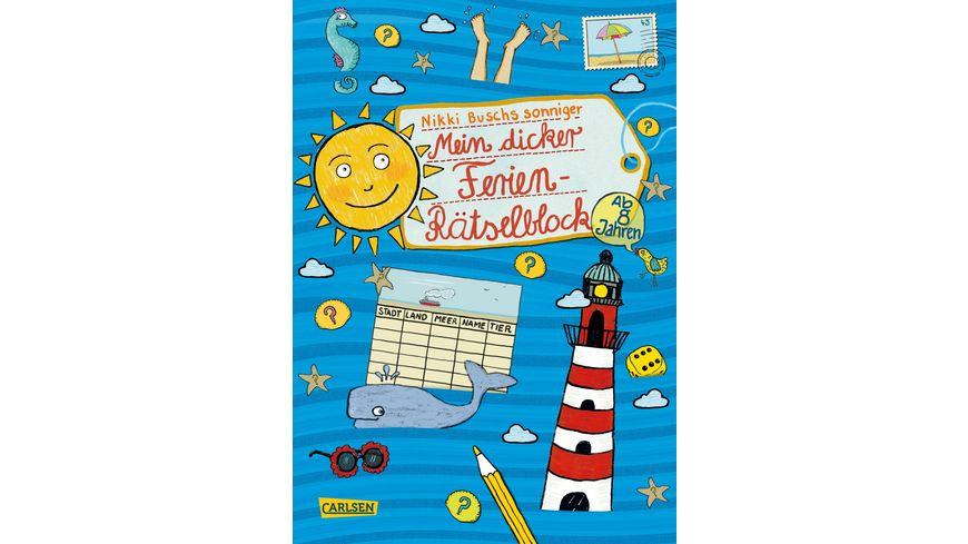 Buch Carlsen Mein dicker Ferien Raetselblock