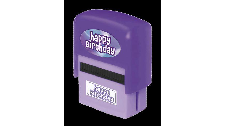 H H Namen Stempel Birthday