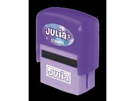 H H Namen Stempel Julia