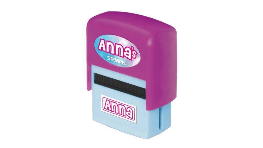 H H Namen Stempel Anna