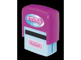 H H Namen Stempel Emma