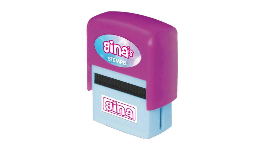 H H Namen Stempel Gina
