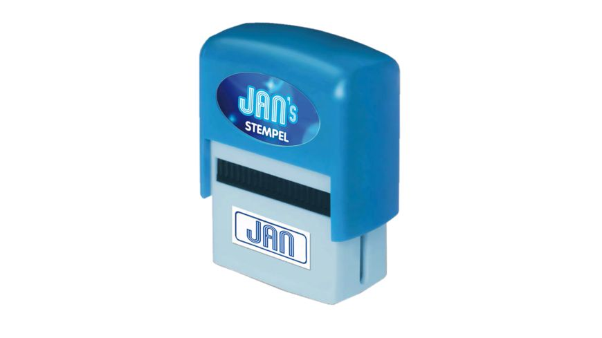 H H Namen Stempel Jan