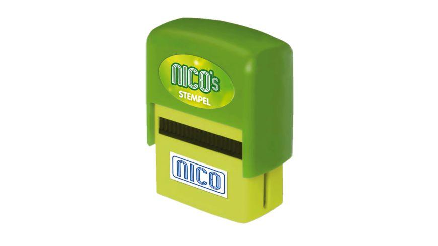 H H Namen Stempel Nico