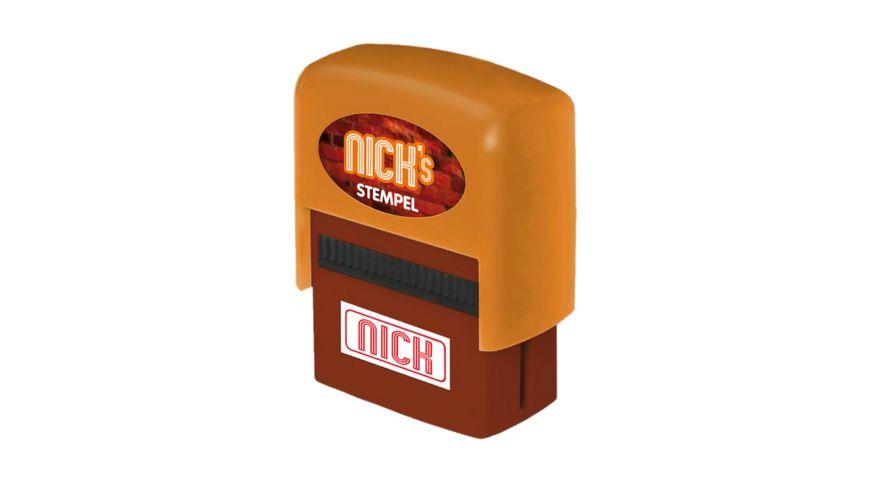 H H Namen Stempel Nick