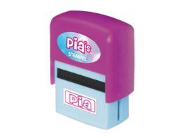 H H Namen Stempel Pia
