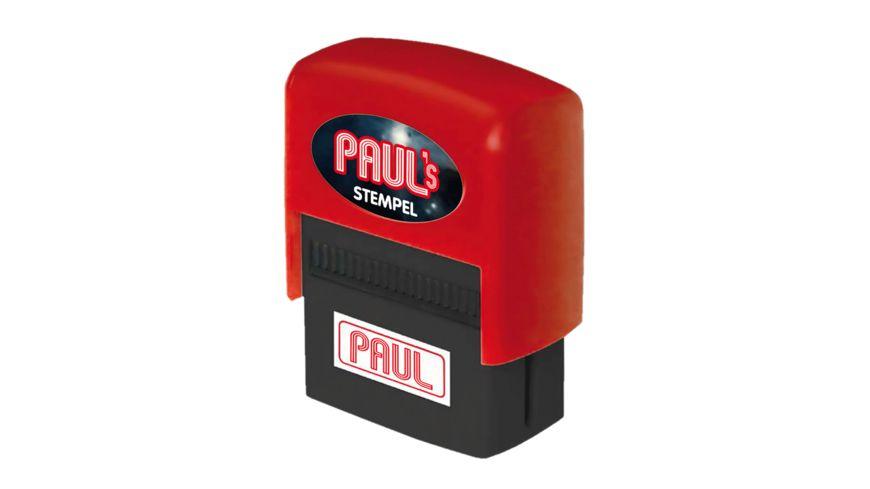 H H Namen Stempel Paul