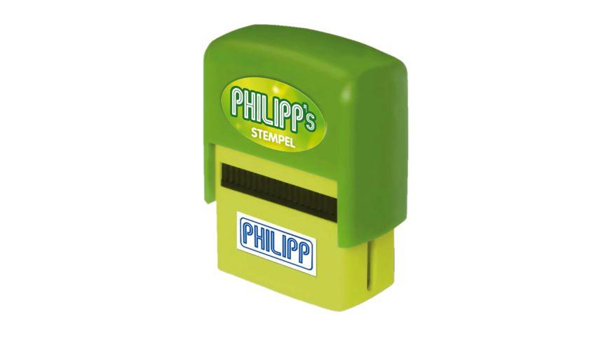 H H Namen Stempel Philipp