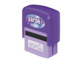 H H Namen Stempel Sarah