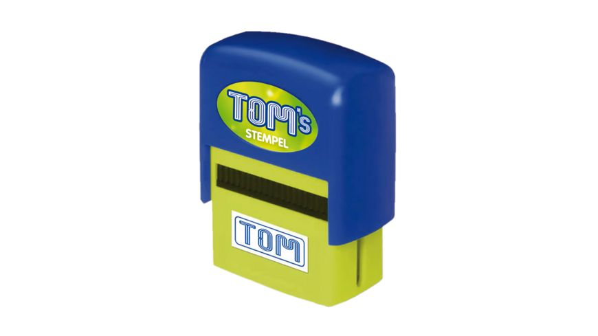 H H Namen Stempel Tom