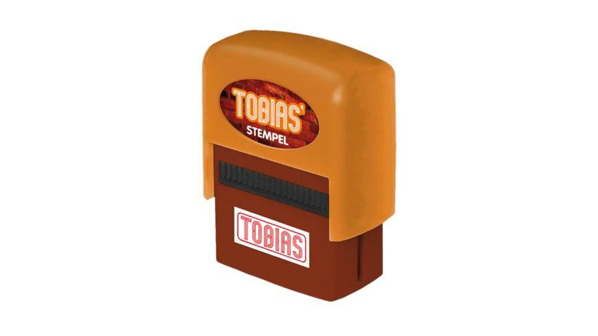 H H Namen Stempel Tobias
