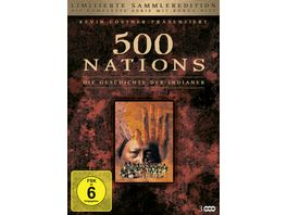 500 Nations Die Geschichte der Indianer Limitierte Sammleredition 2 DVDs Bonus DVD