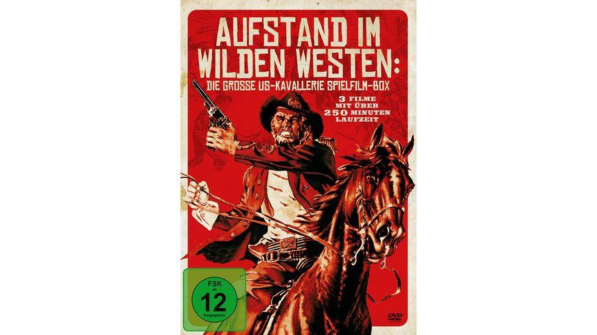 Aufstand im Wilden Westen Die grosse US Kavallerie Spielfilm Box