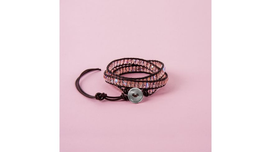 Rayher BP Wickelarmband rose